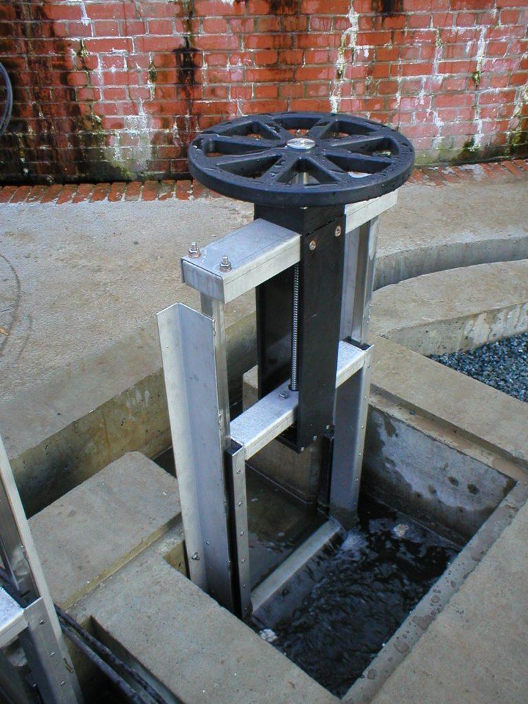 Kos Weir Penstocks Aquatic Control Engineering