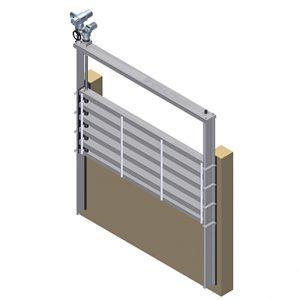 KOS Weir penstocks