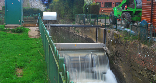 Tilting Weir