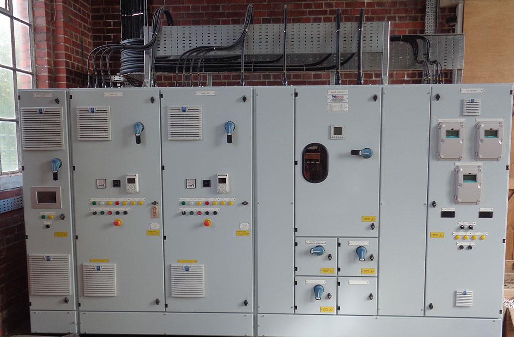 Appledore Control Panel