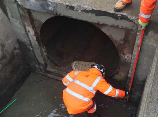 Flood protection at Pont Robin